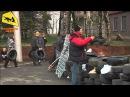 14.04.2014 Горловка. Ситуация вокруг захвата горотдела милиции