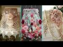 ❤ DIY Shabby Chic Style Lampshade decor Ideas ❤  Home decor Interior design   Flamingo Mango