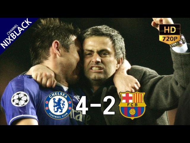 Chelsea 4 2 Barcelona 2005 UCL Round of 16 2nd Leg 08 03 05 All Goals Extended Highlight HD 720P