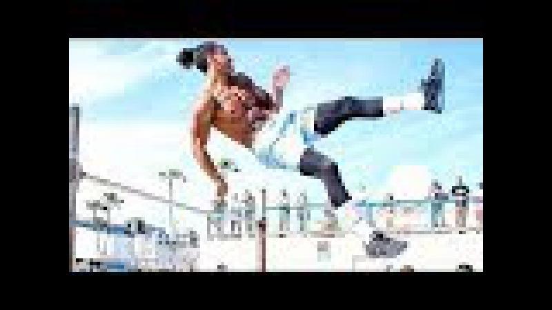 Фристайл на ТУРНИКАХ от МОНСТРа Калистеники Rj Lee Street Workout мотивация смотреть онлайн без регистрации