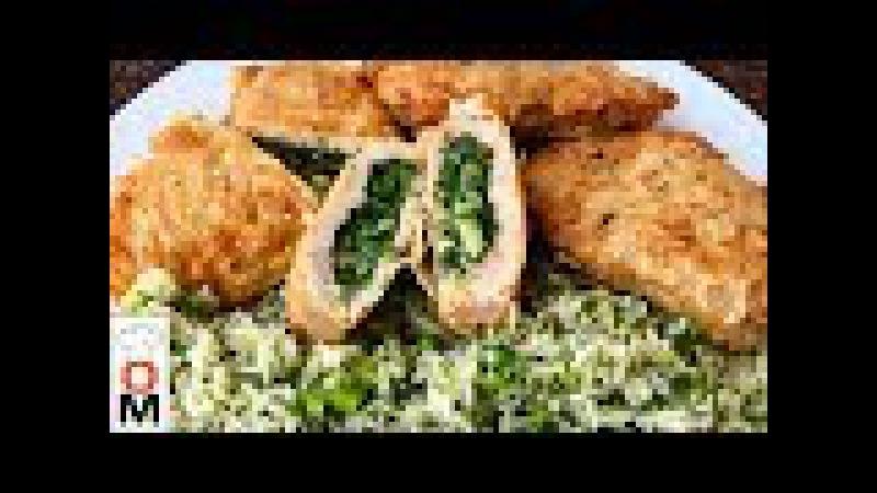 Вкусный Обед На Всю Семью | Мясные Кармашки С Луком и Зеленью Гарнир | Family Lunch Ideas