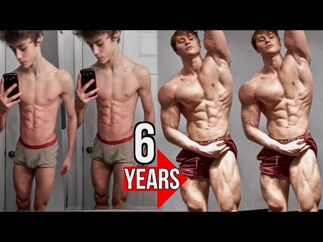 David Laid 6 Year Natural Transformation 13-19