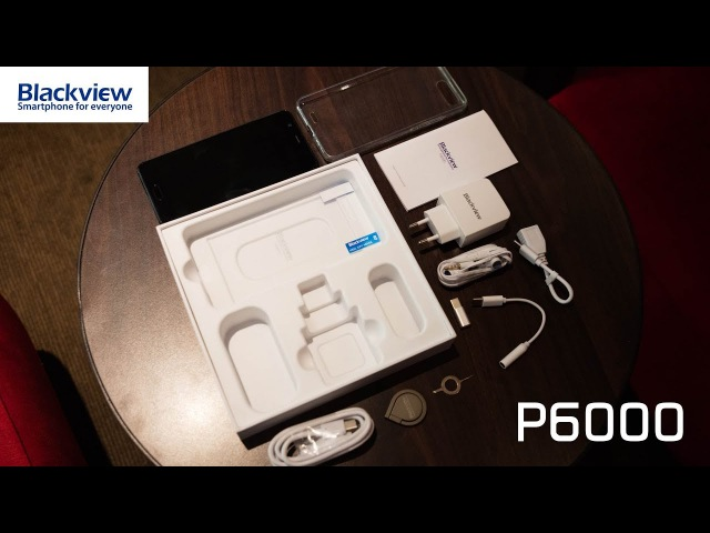 Unboxing and first impression on Blackview P6000