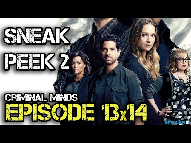 Criminal Minds 13x14 Sneak Peek 2