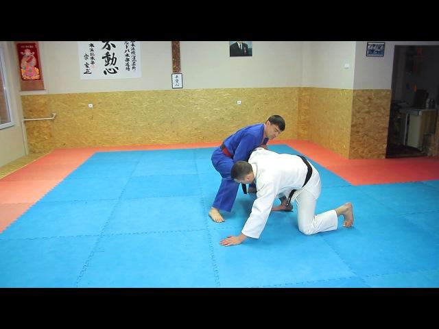 21 Уширо Куби Дзимэ-Недзи Нуки. Ushiro Kubi Jime-Neji Nuki. Освобожение от захвата за шею