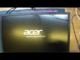 Монитор Acer v226hql. Нет изо. Неисправность светодиодного драйвера.