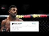 ?СРОЧНО  РЕАКЦИЯ БОЙЦОВ MMA НА НОВОГО ЧЕМПИОНА UFC 720p via Skyload