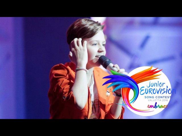 JESC 2016 Russia: Alexey Zabugin - Rozhdenye Pod Solntsem [STUDIO VERSION]