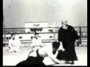 Morihei Ueshiba Aikido demonstration