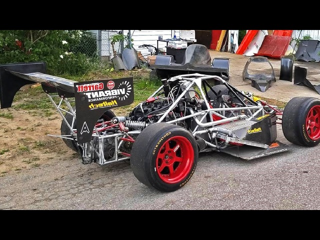 LoveFab Enviate Racing Car Project