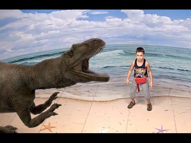 Прогулка с Динозаврами в Океанариуме Малайзии! Walking with Dinosaurs Oceanarium in Malaysia!