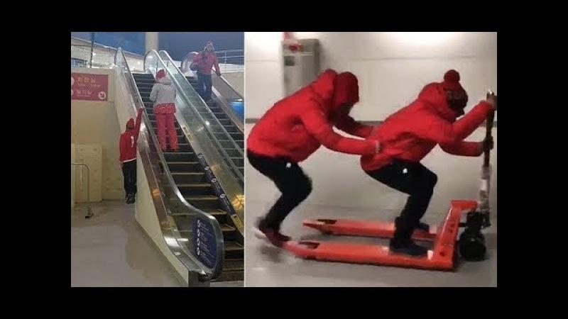 SNS에서 난리난 평창올림픽 스위스팀의 빵터지는 모습들