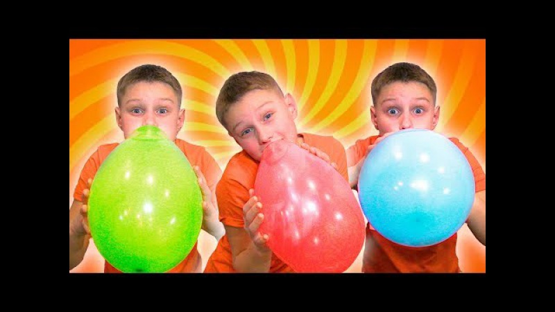 Learn Colors with Balloons Finger Family Song Nursery Rhymes for kids - Học Màu sắc với Bóng bay