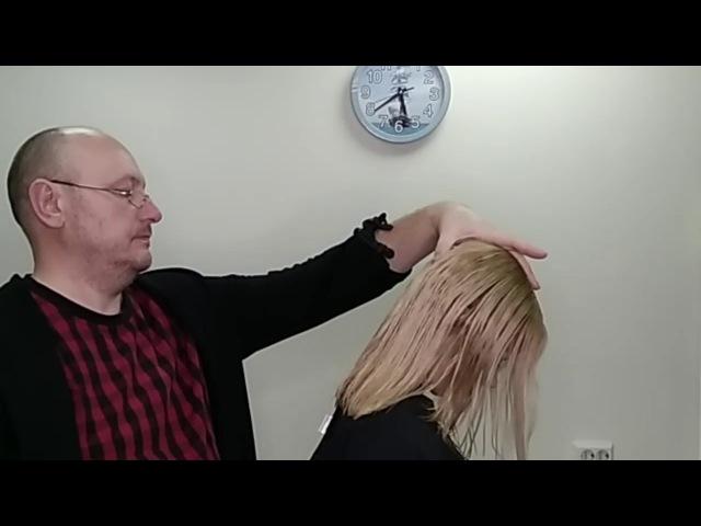Видеоурок 19 Женская стрижка на длинных волосах