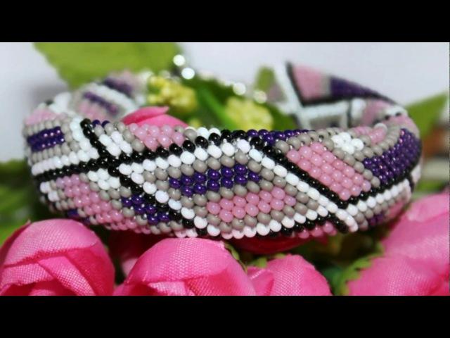 Украшения ручной работы из бисера. Обзор. Handmade jewelry made of beads. Overview.