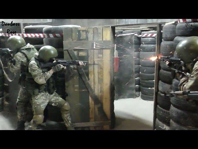 DPR Spetsnaz trainingДНР тактико-специальная подготовка роты спецназа