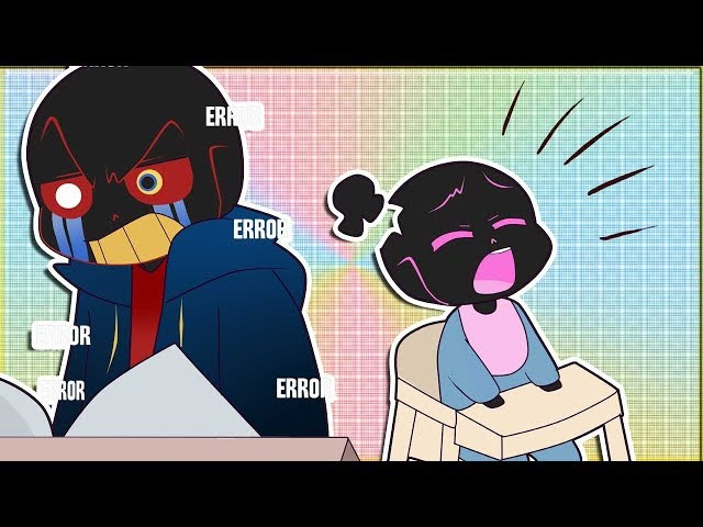Error yells at baby Jammy (sub español)
