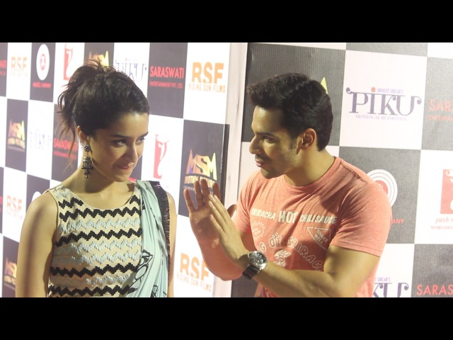 Shraddha Kapoor Varun Dhawan | Piku Success Party