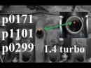 Awaria odmy p0299 p0171 p1101 1 4 turbo Astra Zafira a14net a14nel