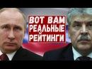 МИХАИЛ ХАЗИН: ГРУДИНИН - ЛУЧШАЯ АЛЬТЕРНАТИВА ПУТИНУ! РЕЙТИНГ КАНДИДАТОВ!