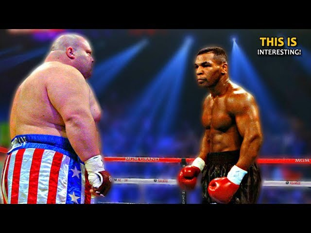 The worst days for Iron Mike Tyson 6 losses by KNOCKOUT