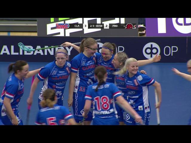 Maalikooste TEHO Sport Suomen Cup finaali: Classic–SB-Pro 7–3 (naiset)