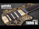MAKING OF Warwick Thumb SC Fretless 5 String Piezo Bridge Buckeye Burl Top 3288