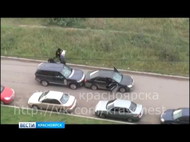 В Красноярске средь бела дня неизвестные похитили человека