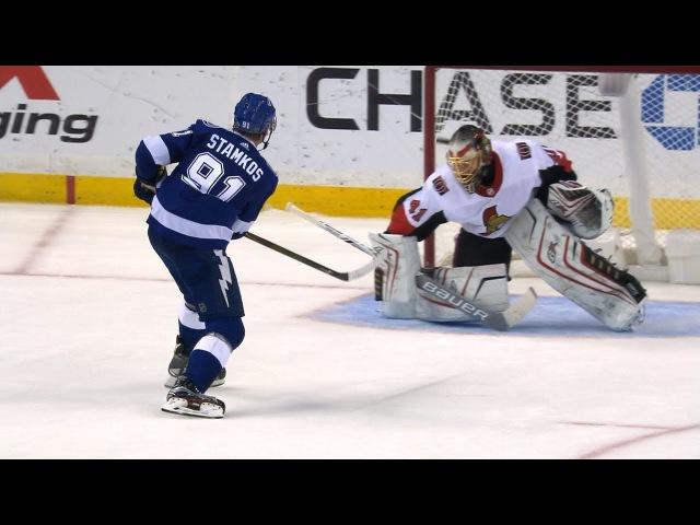 Point, Stamkos score in Lightning's SO win