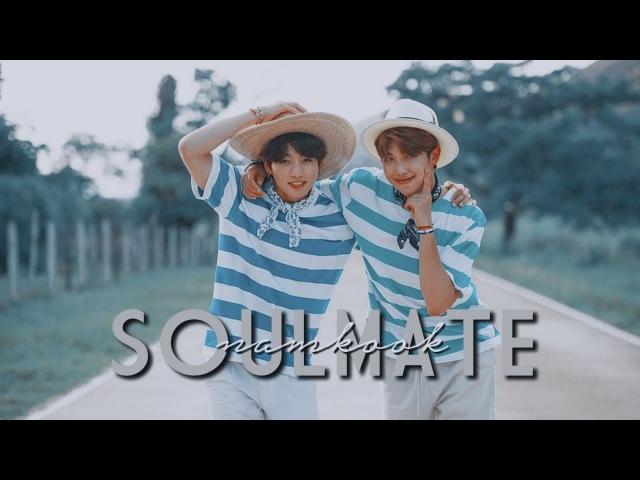 Namkook • what's a soulmate?