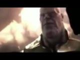 Vingadores Guerra Infinita - cena vazada (Aranha de Ferro, Thanos, Doutro Estranho e Peter Quill)