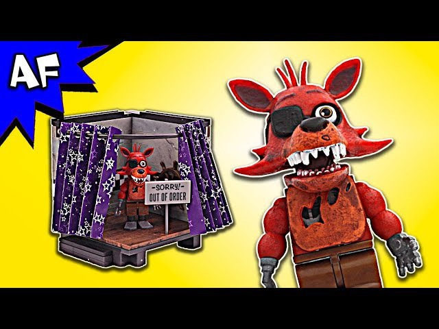 Five Nights at Freddy's PIRATE COVE Speed Build - FNAF McFarlane Toys LEGO compatible set