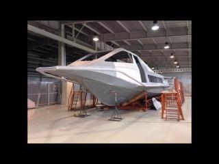 Скоростное судно на подводных крылья  Россия разрабатывает проект 902
