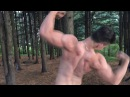 A young 16-year-old fitness model, an amazing teenager from Russia