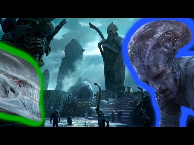 Alien Covenant concept art that tells a different story! Artist Khang Les unused concept art