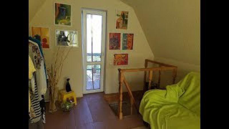 Мой дачный домик. Обзор интерьера. Как устроен дом на даче внутри и снаружи.
