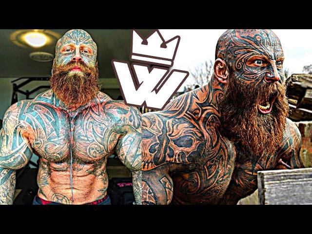 MONSTER of Bodybuilding Tattooed BEAST Jens Dalsgaard