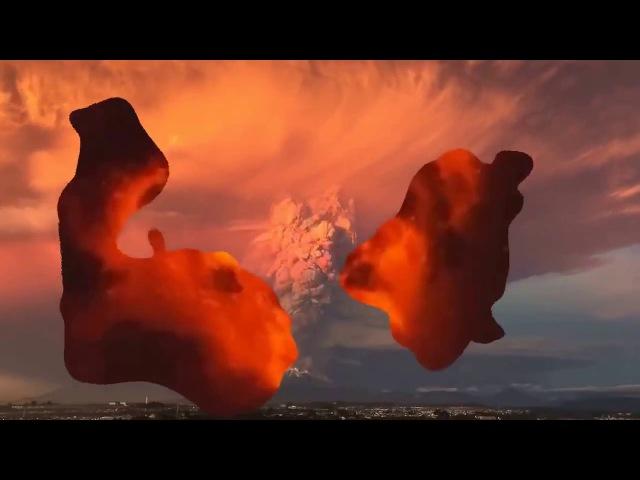 Извержения вулкана в Чили, вулкан Кальбуко