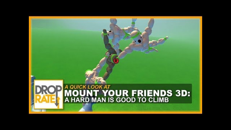 Mount Your Friends 3D: A Hard Man is Good to Climb [Steam, $6.99]