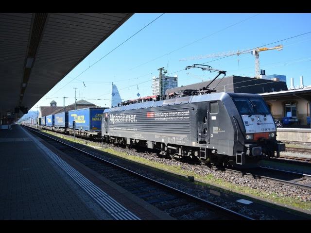 Grenzverkehr in Basel am 22.06.16 Teil 1 – «Weil am Rhein und Basel Badischer Bhf»
