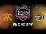 FNC vs. SPY - Week 1 Day 1 EU LCS Spring Split Fnatic vs. Splyce(2018)