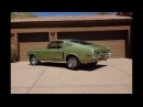 1968 Ford Mustang GT Fastback in Lime Gold Green Engine Sound on My Car Story with Lou Costabile