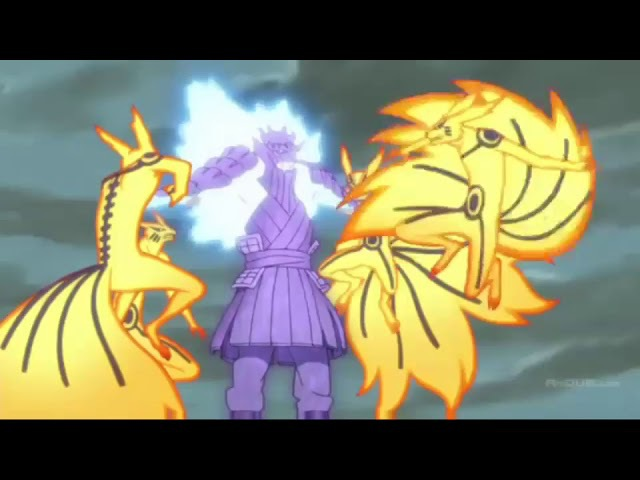 Наруто против саске полный бой последняя animani