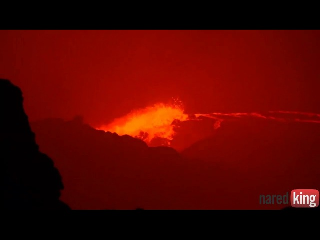 Erta Ale active volcano,the gateway to Hell 25, nov 2017