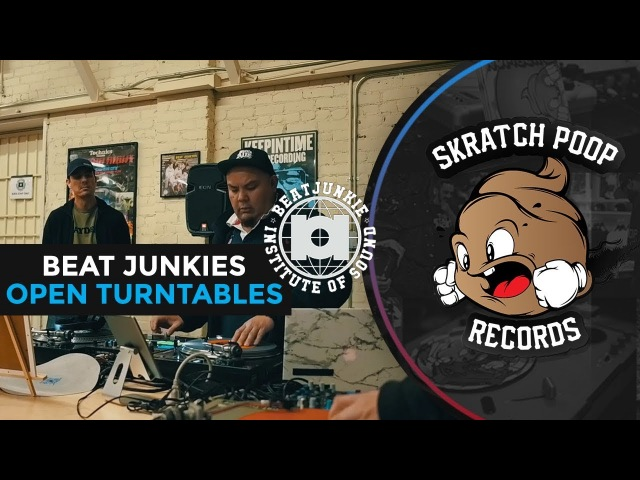 Beat Junkies Open Turntables Scratch Session Ft. Excess Babu Flip Flop Tatsu Celly Lok Idea