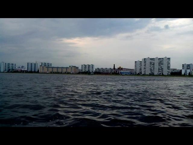 Патриот 280 и Сузуки 4 л.с., река Обь, лето 2015
