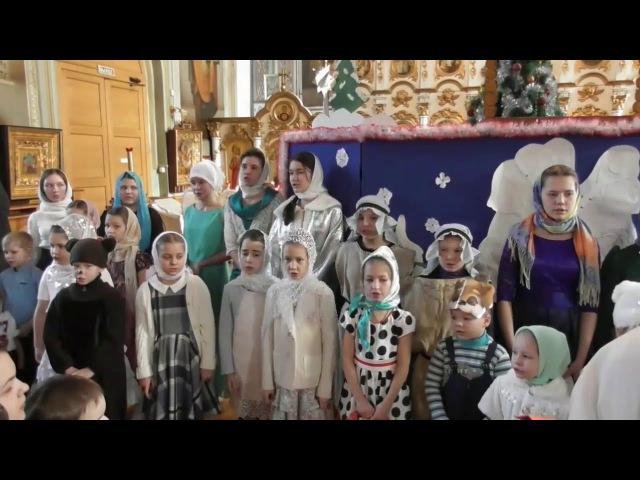Рождество 2018 Никольский Собор г.Сатка