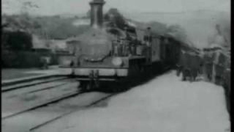 Auguste et Louis Lumière - L'Arrivée d'un train en gare de la Ciotat