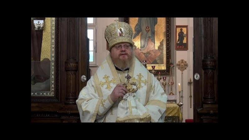 Как поститься духовно? Проповедь архиепископа Подольского Тихона. 18.02.2018, Берлин.