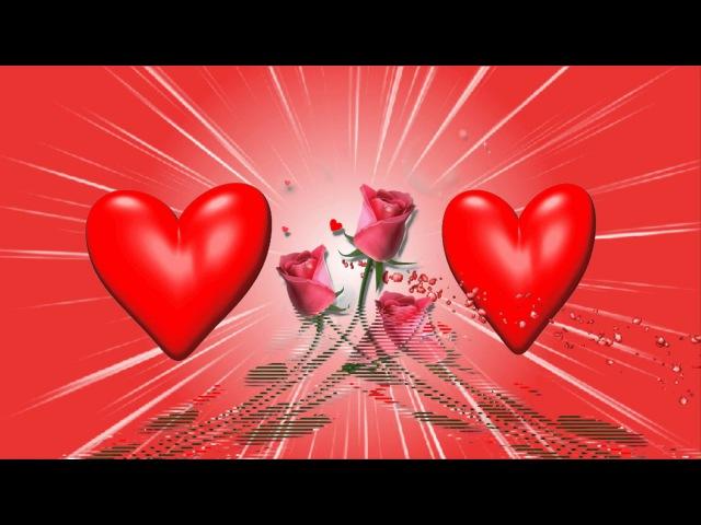 Красивый бесплатный футаж с сердечками и рамочкой для фото.